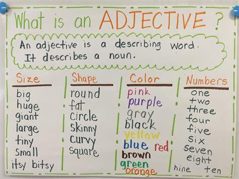First Grade Blog  Firstieland Monsterously Good Adjectives
