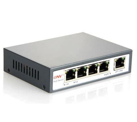 4 port af poe switch with 4 poe ports onv