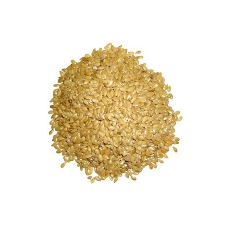 Organic Golden Flax Seeds / Flaxseed   500 grams Thailand