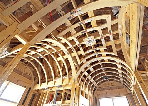 Groin Vault Ceiling Framing by Groin Ceiling Framing Archways Ceilings