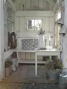 Gartenhaus Shabby Chic : die besten 10 ideen zu shabby chic garten auf pinterest shabby chic terrasse g rten und ~ Markanthonyermac.com Haus und Dekorationen