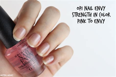 Opi Nail Envy Strength In Color Collection Swatches