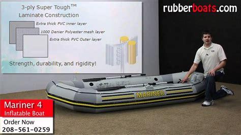 Intex Inflatable Boat Review by Intex Mariner Inflatable Boat Review By Rubber Boats Youtube