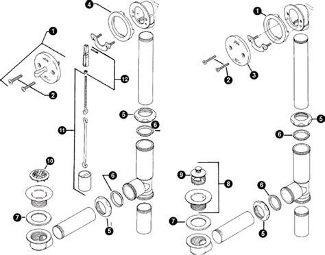 price pfister bathtub drain parts diagram randalalbrecht s