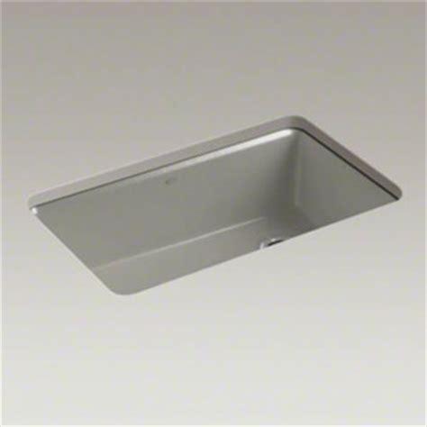 kohler k 5871 5ua3 k4 riverby single bowl undermount kitchen sink with accessories