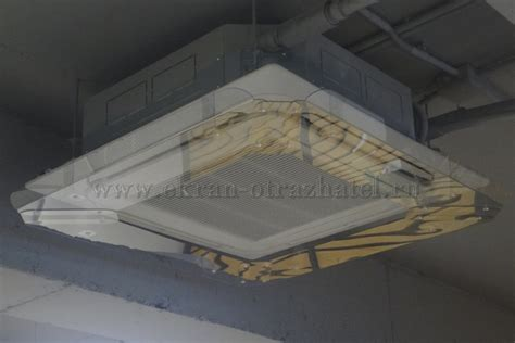 deflector redirect air conditioner cassette system wing vent ceiling cover ebay