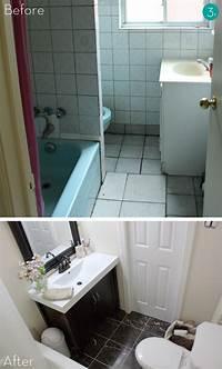 small bathroom makeovers Easy Bathroom Makeover   Home Interior Designs and ...