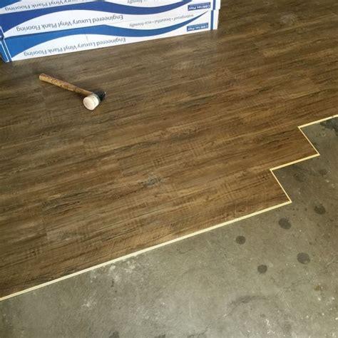 coretec plus installation engineered luxury vinyl plank