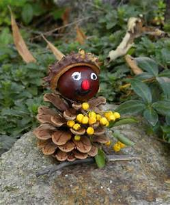 Basteln Im Herbst : basteln im herbst bastelvorlage eichel kastanie deko basteln ~ Markanthonyermac.com Haus und Dekorationen