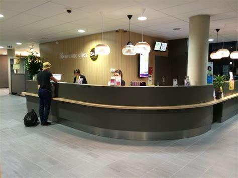 reception picture of b b hotel porte des lilas tripadvisor