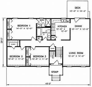Inspirational Floor Plans Split Level Homes - New Home ...
