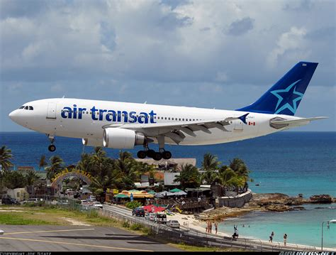 airbus a310 308 air transat aviation photo 1247660 airliners net