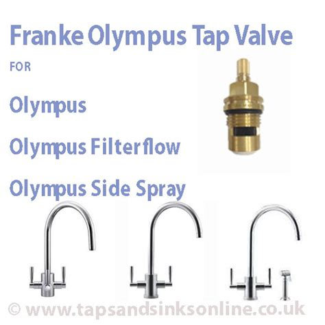 Leisure Sinks And Taps by Franke Olympus Tap Valve Kitchen Taps Parts Franke