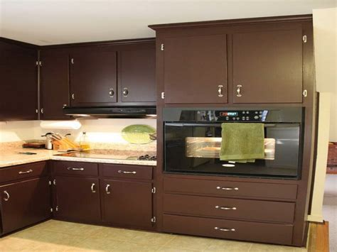 kitchen brown kitchen cabinet painting color