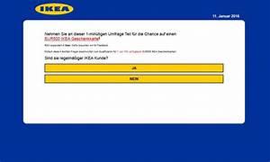 Ikea Gutschein Online Einlösen : whatsapp ikea gutschein f hrt zu datenklau und abofallen pc magazin ~ Markanthonyermac.com Haus und Dekorationen