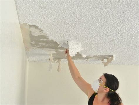 asbestos popcorn ceiling buyers ask