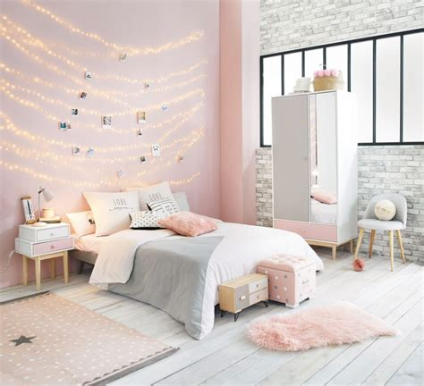 Pink And Grey Bedroom Decor  Home Decorating Ideas