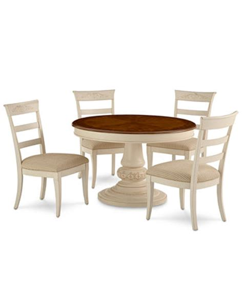 coventry dining room furniture 5 set table and 4 side chairs furniture macy s