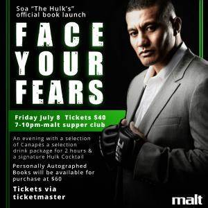 Tickets for Soa the Hulk's official book launch in Mount ...