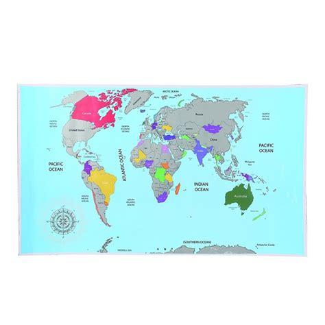 carte 224 gratter du monde