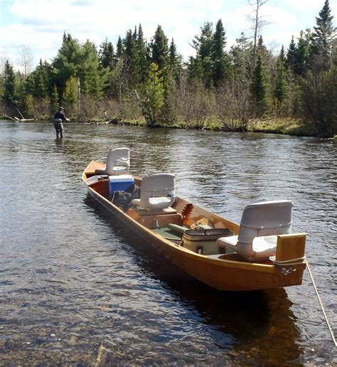 Au Sable River Boat northern michigan fly fishing guides old au sable fly shop