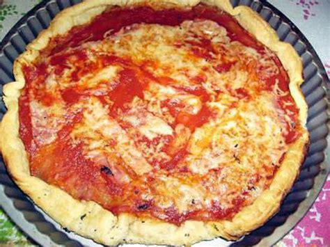 recette de pizza tres facile et rapide