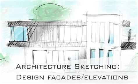 How To Design/draw Cool Facades