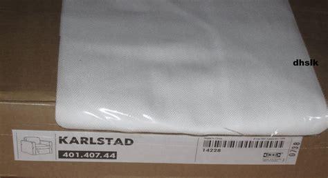 ikea karlstad armchair chair slipcover cover blekinge