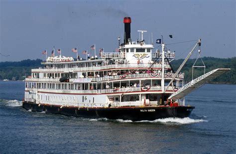 Delta Queen Boat by Delta Queen Steamboat Local Landmark Mariemont Ohio