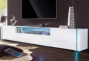 Lowboard Weiß Hochglanz 3m : lowboard breite 206 cm online kaufen otto ~ Markanthonyermac.com Haus und Dekorationen