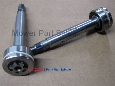 spindle mandrel pulley fits 42 48 deck models husqvarna ayp jonsered mcculloch partner