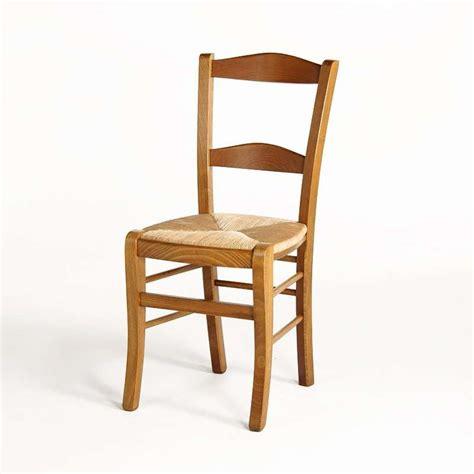 chaise rustique bois et paille maison design hosnya