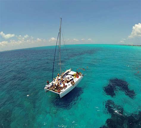 Private Catamaran Isla Mujeres by Private Charter Catamarans In Cancun 43 Wonderous World
