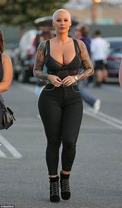 Amber Rose out with son Sebastian in LA after social media ...