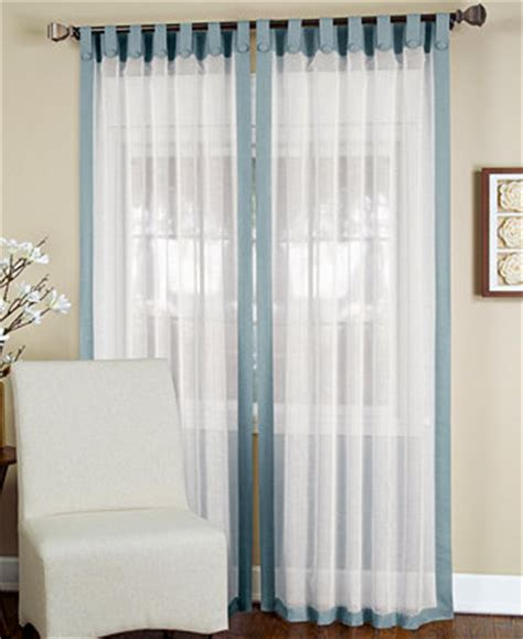 elrene sheer ella window treatment collection sheer