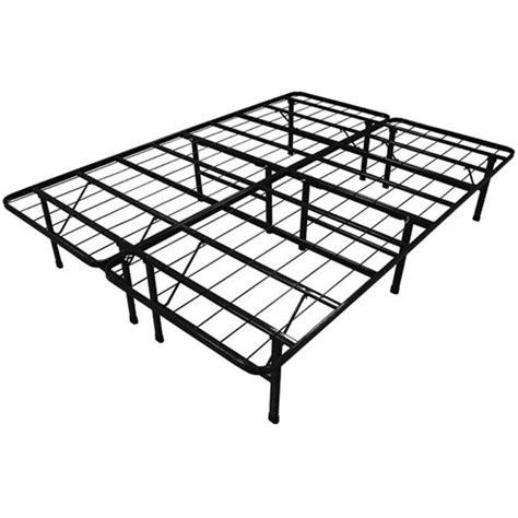 size steel folding metal platform bed frame
