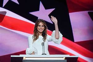 Melania Trump Takes Stage At RNC For Speech In Christian ...