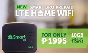 Smart Home Wlan : enjoy the fastest lte connections at home with smart bro prepaid lte home wifi pinoy tech ~ Markanthonyermac.com Haus und Dekorationen