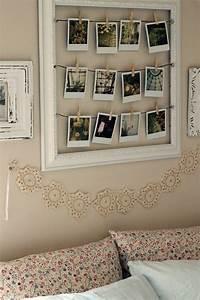 Wand Mit Fotos Dekorieren : polaroid fotos deko basteln gestalten 17 gute laune ideen ~ Markanthonyermac.com Haus und Dekorationen