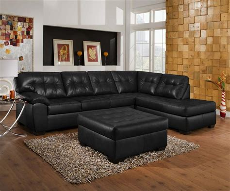 living room decorating ideas black leather