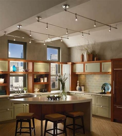 Kitchen Track Lighting Ideas Pictures by Different Types Of Track Lighting Fixtures To Install