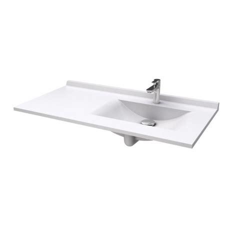 plan resiplan avec vasque d 233 port 233 e droite en marbre de synth 232 se robinet and co plan vasque