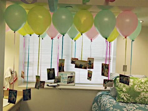 Fine Birthday Room Decoration With Balloons 3 Be