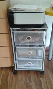 Ikea Büro Rollcontainer : drahtgeflecht gebraucht kaufen nur 3 st bis 70 g nstiger ~ Markanthonyermac.com Haus und Dekorationen