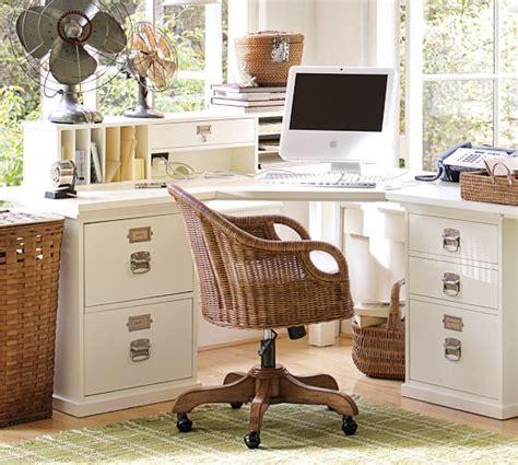 bedford corner desk set pottery barn space saving solutions pin