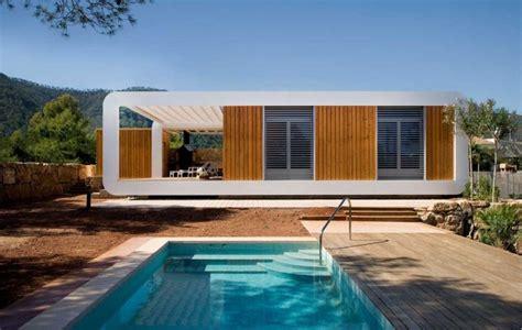 maison contemporaine pr 233 fabriqu 233 e en bois