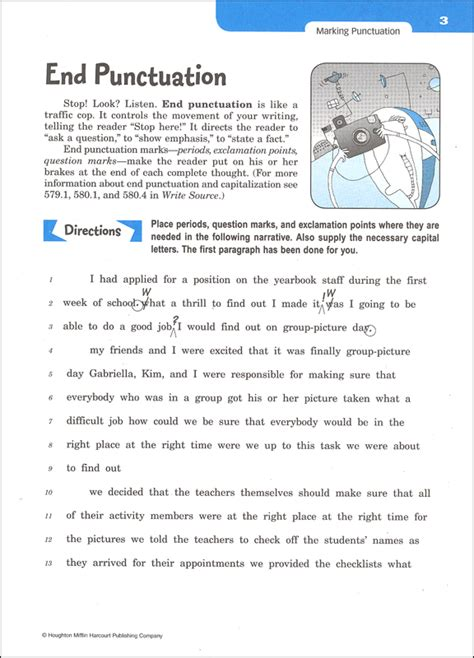 Write Source (2012 Edition) Grade 8 Skillsbook Student (026505) Details  Rainbow Resource