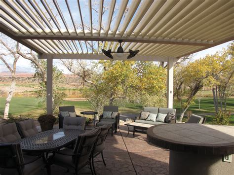 equinox louvered patio roof patio covers