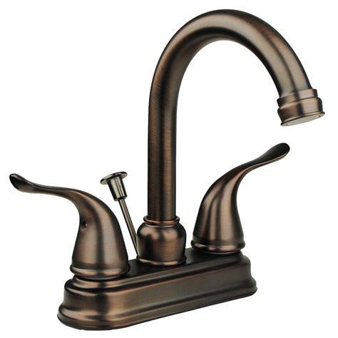 solid brass lavatory faucet two handle high arc spout bathroom sink bronze decor ebay