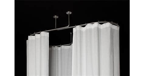 barre de rideau de fixation plafond